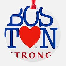 Boston Heart Strong Boston Marathon Ornament