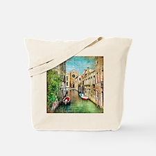 Vintage Venice Photo Tote Bag
