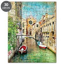 Vintage Venice Photo Puzzle