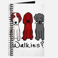 Walkies? (Three dogs) Journal