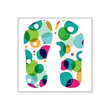 """Fun Bubbles Square Sticker 3"""" x 3"""""""