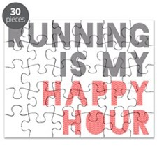 Running Is My Happy Hour Puzzle