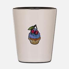Venom Cupcake Shot Glass
