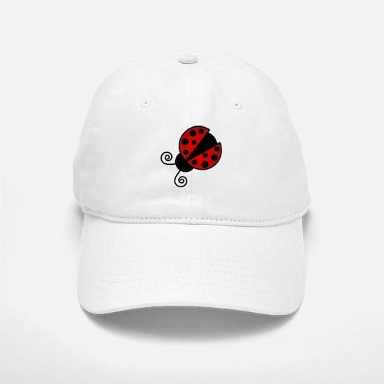 Red Ladybug 1 Baseball Cap
