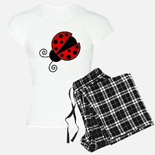 Red Ladybug 1 Pajamas
