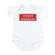 I'm the Accordion Player Infant Bodysuit