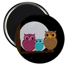 Family of Owls Magnets