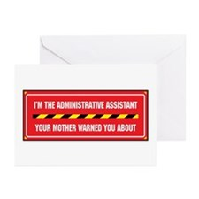 I'm the Admin Greeting Cards (Pk of 10)