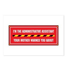 I'm the Admin Postcards (Package of 8)