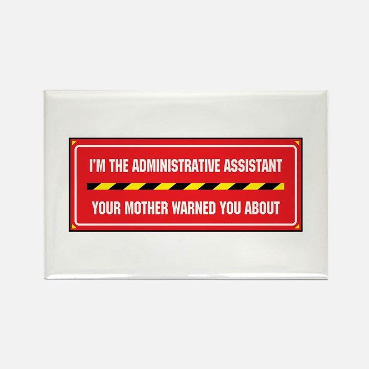I'm the Admin Rectangle Magnet (100 pack)
