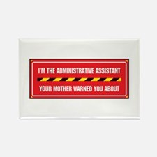 I'm the Admin Rectangle Magnet (10 pack)