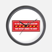 I'm the Admin Wall Clock