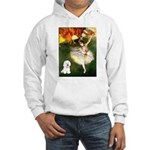 Ballet Dancer & Bichon Hooded Sweatshirt