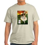 Ballet Dancer & Bichon Light T-Shirt