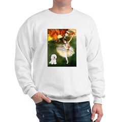 Ballet Dancer & Bichon Sweatshirt