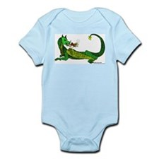 Flamin' Green Dragon Infant Bodysuit