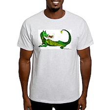 Flamin' Green Dragon T-Shirt