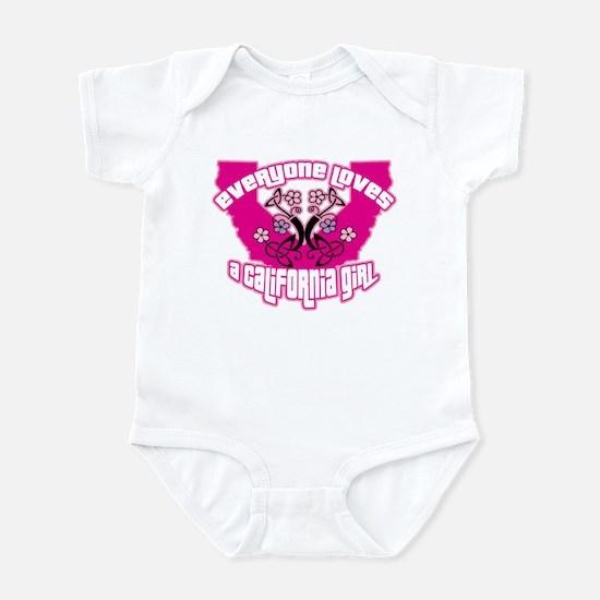 California Girl Infant Bodysuit