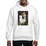Ophelia & Bichon Hooded Sweatshirt