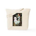 Ophelia & Bichon Tote Bag