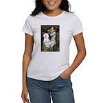 Ophelia & Bichon Women's T-Shirt