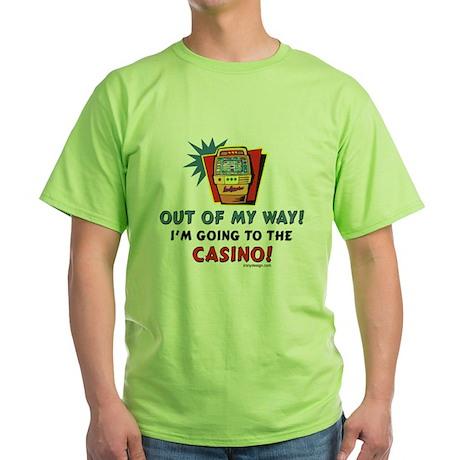 outofmywaycasinoSLOTPILLOW T-Shirt