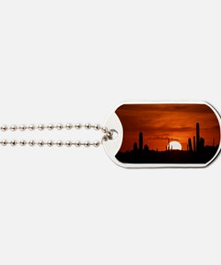 Sunset Red (Large) Dog Tags