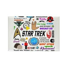Trekkie Memories Magnets