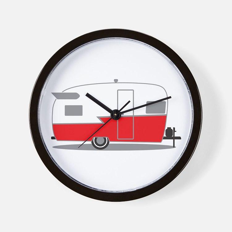 Cute Shasta camper Wall Clock