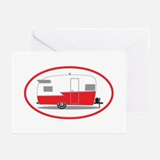 Cute Trailer park Greeting Cards (Pk of 10)