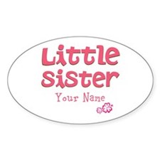Cute Little Sister Decal