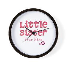 Cute Little Sister Wall Clock