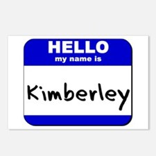 hello my name is kimberley  Postcards (Package of