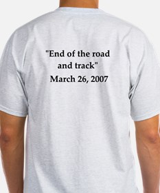 End of the road and track - T-Shirt