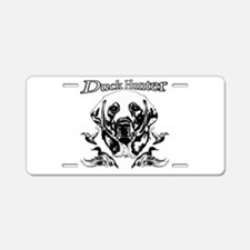 Duck Hunter Labrador Aluminum License Plate
