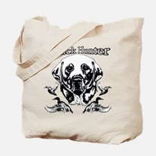 Duck Hunter Labrador Tote Bag