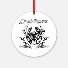 Duck Hunter Labrador Ornament (Round)