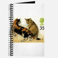 Vintage 1995 Great Britain Cats Postage Stamp Jour