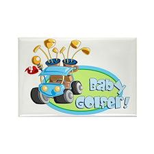 Baby Golfer! Rectangle Magnet