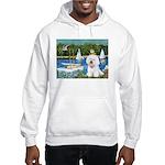 Sailboats (1) Hooded Sweatshirt