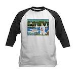 Sailboats (1) Kids Baseball Jersey