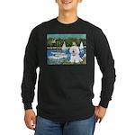 Sailboats (1) Long Sleeve Dark T-Shirt
