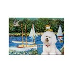 Sailboats (1) Rectangle Magnet (10 pack)