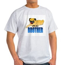 Fawn Pug Brother T-Shirt