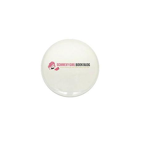 Schmexy Girl Book Blog Logo Mini Button