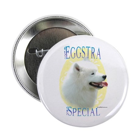 Eggstra Special Samoyed Button