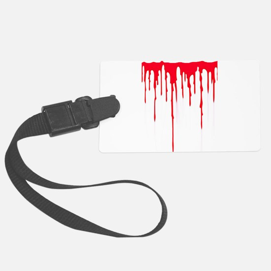 Bleeding Large Luggage Tag