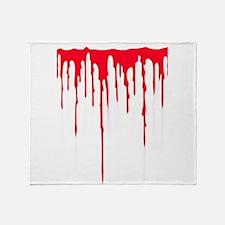 Bleeding Throw Blanket