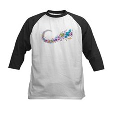 Music Stream Baseball Jersey