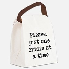 Funny Office Canvas Lunch Bag